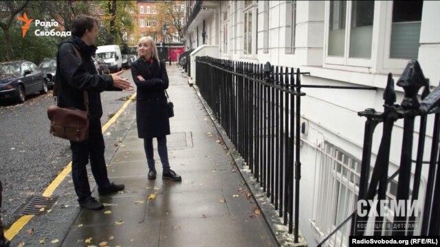 Олівер Баллоу показує квартиру у підвалі, що записана на Ладу Фірташ