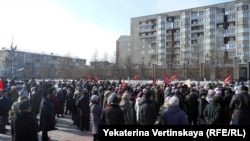 Demonstration in Irkutsk, 14 March 2015 - 2