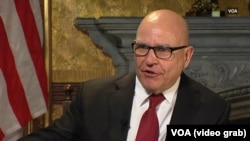 U.S. national security adviser H.R. McMaster expressed concerns about Russian meddling in the Mexican election.