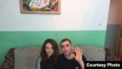 Vadim Kuramshin həyat yoldaşı Kateryna Kuramshina ilə