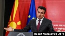 Премиерът на Северна Македония Зоран Заев