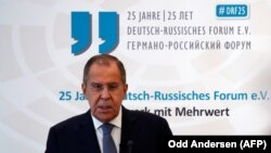 GERMANY -- Russian Foreign Minister Sergei