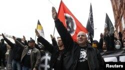"""""""Русский марш"""" в Москве. 4 ноября 2012 года"""