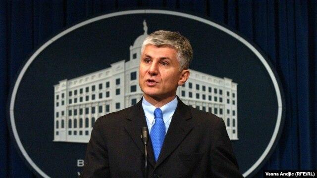 Zoran Đinđić u decembru 2002. godine, foto: Vesna Anđić