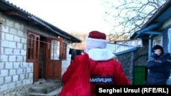 Moș Gerilă la Tiraspol