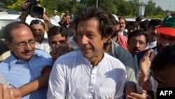 Imran Khan. Islamabad, 6 tetor 2012.