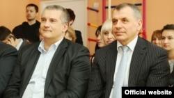 Сергій Аксьонов (ліворуч) і Володимир Константинов