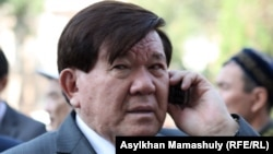 Ақын, қоғам қайраткері Мұхтар Шаханов. Алматы, 24 қыркүйек 2012 жыл.