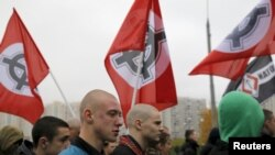 Маршот во Москва по повод Денот на национално единство.