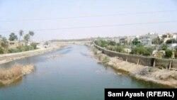تناقص المياه في نهر الوند بخانقين