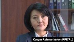Аида Карабаева.