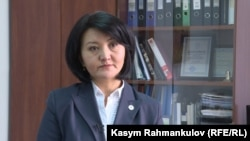Улуттук банктын расмий өкүлү Аида Карабаева.