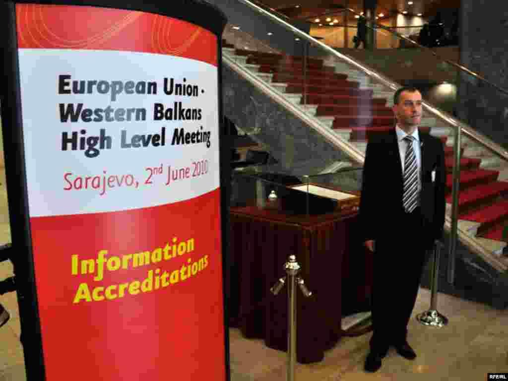 Sarajevski ministarski sastanak EU - Zapadni Balkan, inicirala je Kraljevina Španija, zemlja koja predsjedava EU. Foto: Midhat Poturović