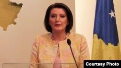 Косовскиот претседател Атифете Јахјага