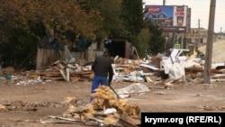 Демонтаж Сталинградского рынка