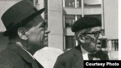 Walter Gropius (dreapta)
