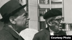 Selman Selmanagić i Walter Gropius, foto: www.bauhaus-online.de