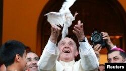 Roma Papası Tbilisidə. 30.09.2016