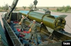 """Ракета """"Искандер"""" вооруженных сил России"""