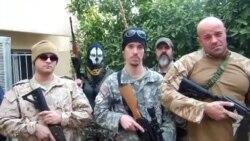 متطوعون من اميركا واوروبا لمحاربة داعش