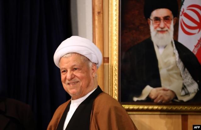 Former Iranian President Akbar Hashemi Rafsanjani