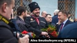 Александр Захарченко на праздновании годовщины «референдума» в Симферополе