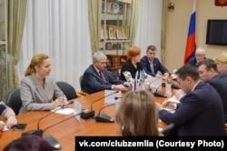Встреча многодетных семей с депутатами и чиновниками