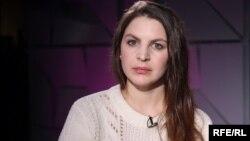 Anna Rivina, the director of Nasiliyu.Net