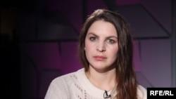"Директор центра ""Насилию.нет"" Анна Ривина"