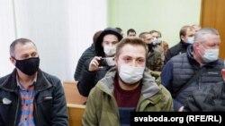 Георгі Васіленка падчас суду 17 лістапада
