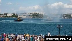Показательный морской бой в Севастополе, 29 июня 2019 года