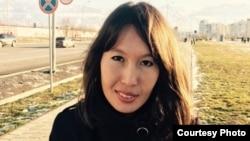 Жительница Алматы Акмарал Тобылова, подозреваемая по статье о «финансировании деятельности преступной группы».