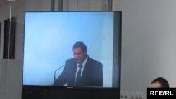 Прэм'ер-міністар Сяргей Сідорскі выступае перад удзельнікамі Форуму.