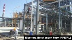 Кара-Балтадагы мунайды кайра иштетүүчү завод