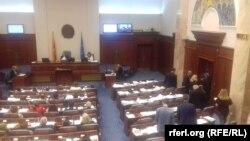 Скопје-Пратениците на ВМРО-ДПМНЕ ја напуштаат седницата за ратификација на Договорот со Грција,19.06.2018