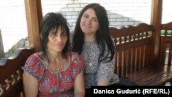 Ermina sa kćerkom Lejlom