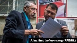 Qırımlı fail Suleyman Kadırov ve advokat Edem Semedlâyev