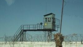 Тюремная сторожевая вышка и колючая проволока по периметру колонии. Иллюстративное фото.