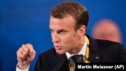 French President Emmanuel Macron is a big supporter of the new environmental initiative.