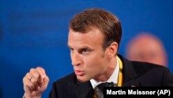 Presidenti i Francës, Emmanuel Macron