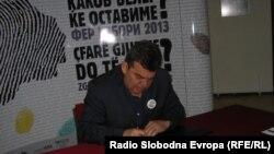 Зоран Дамјановски од СДСМ, градоначалник и кандидат за градоначалник на Куманово.