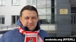 Адзін зь лідэраў руху салідарнасьці «Разам» Аляксандар Макаеў