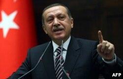 Türkiyənin Baş naziri Recep Tayyib Erdoğan