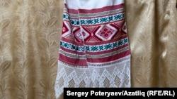 Традиционная нагайбакская вышивка в музее села Фершампенуаз