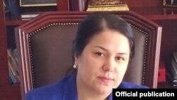 Tajikistan -- Ozoda Rahmon, 28 March 2013