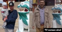 Бата Дамбаеў і Сайман Астроўскі ў Улан-Удэ