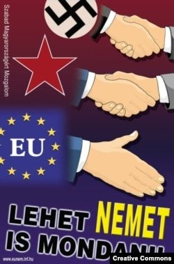 """""""Стоит сказать НЕТ!"""" Антиевропейский агитационный плакат венгерских националистов"""