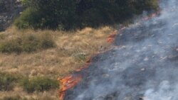 Նոր հրդեհ Խոսրովի անտառում, «այրվում է 4-5 հեկտար խոտածածկ տարածք»