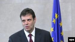 Vojislav Koštunica u sedištu Evropske unije 12. septembra, 2007.godine
