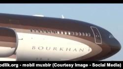 Самолет Алишера Усманова «Бурхан» назван в честь отца миллиардера.